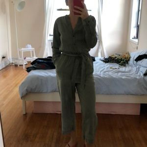 Old Navy Olive Jumpsuit